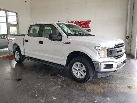 Pre-Owned 2018 Ford F-150 XL 4WD 4D SuperCrew